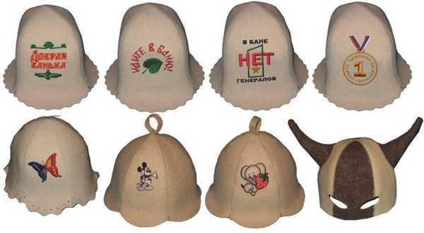 Обязательный аксессуар в бане - шапка