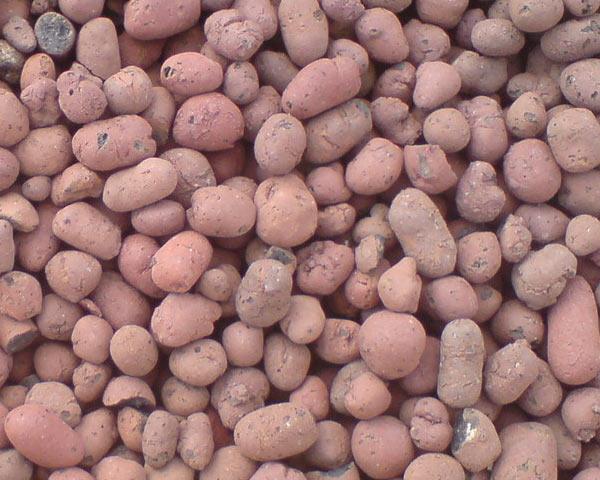 Керамзит состоит из глины