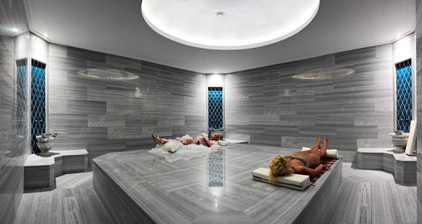 Массажный стол квадратной формы для хамама фото