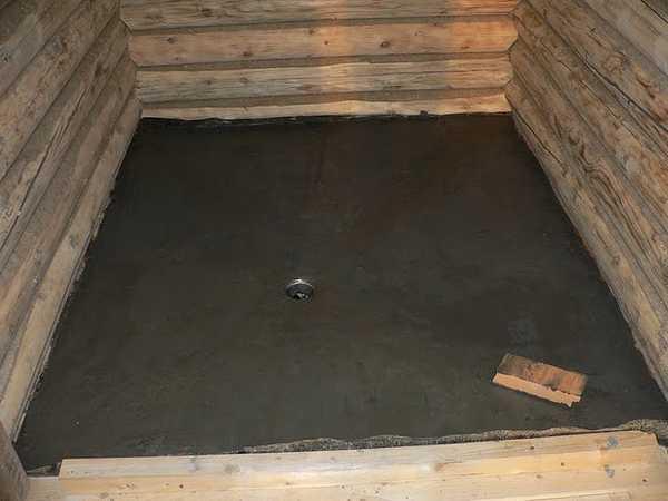 Подготовленное основание для укладки плитки на деревянный пол