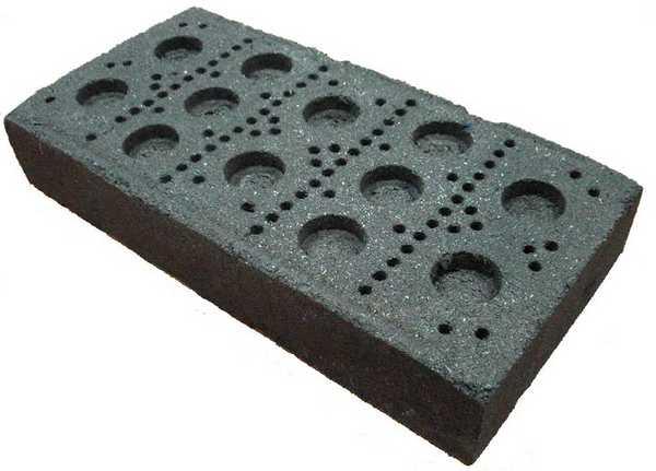 Торфяной блок пока не самый популярный материал