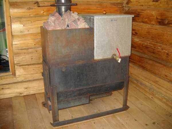 Бак для воды для бани из стали