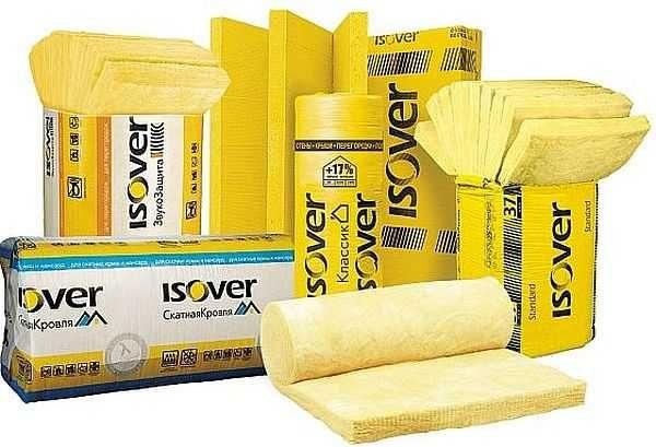 Так выглядит фирменная упаковка утеплителей Изовер