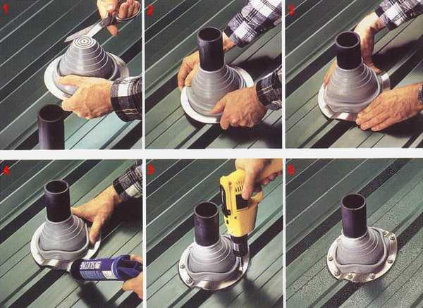 Как устанавливать заводскую проходку