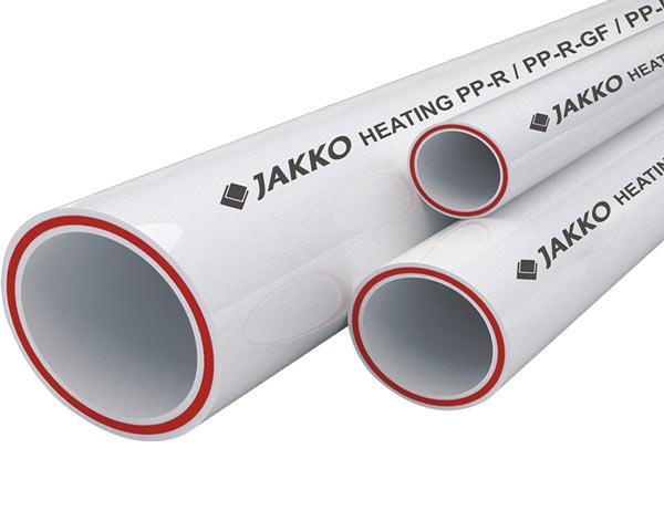 Армированные полипропиленовые трубы фирмы JAKKO