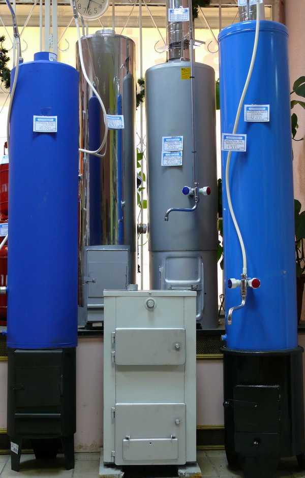 Дровяные водонагреватели для бани