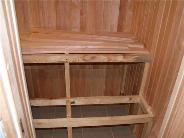 Как построить сауну в квартире: готовый каркас с теплоизоляцией обшивают вагонкой