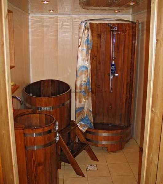 Самодельный душ