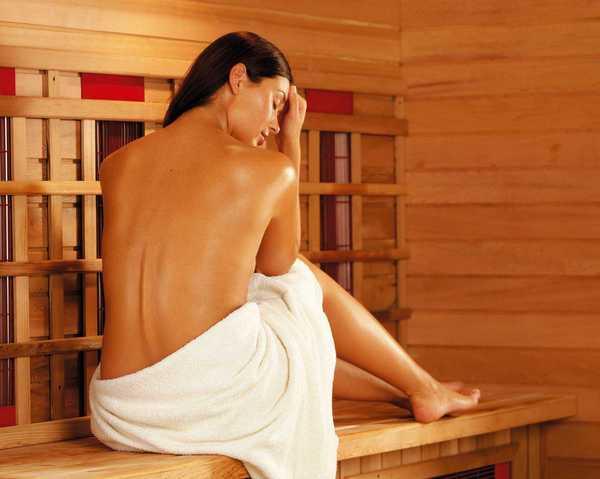 Инфракрасная сауна - одна из составляющих для похудения