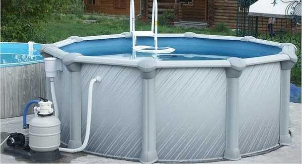Маленькие бассейны в бане: переносной бассейн из пластика