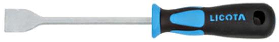 При конопатке, не помещает иметь под рукой лопатку-скальпель. Рабочая часть инструмента выполнена из закаленной углеродистой стали
