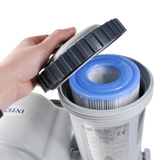 Сменный фильтр-картридж в насосе INTEX
