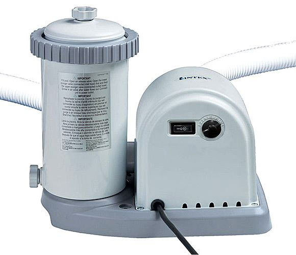 Насос INTEX для фильтрации воды в бассейне