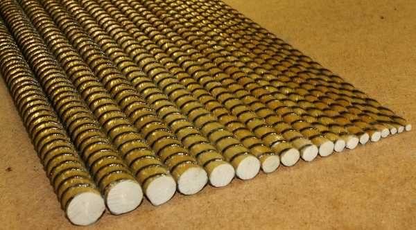 Выбор диаметра арматуры для фундамента зависит от типа грунтов и массы здания