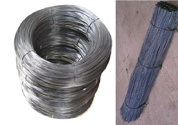 Проволока для вязки арматуры может продаваться в бухтах или уже нарезанной