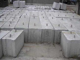 Железобетонные фундаментные блоки относятся к категории тяжелых