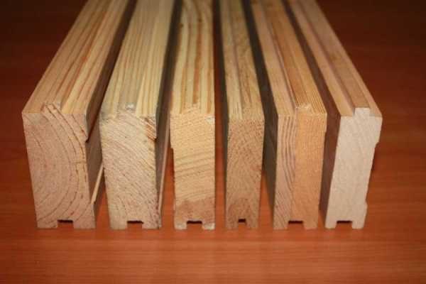 Шпунтованные доски могут быть разной толщины