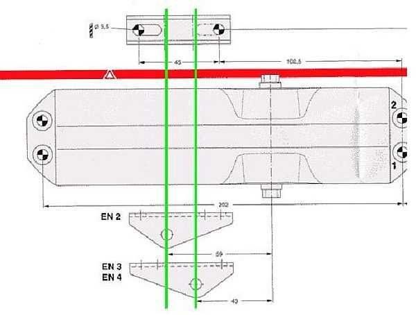 Класс устройства зависит от способа установки лапки