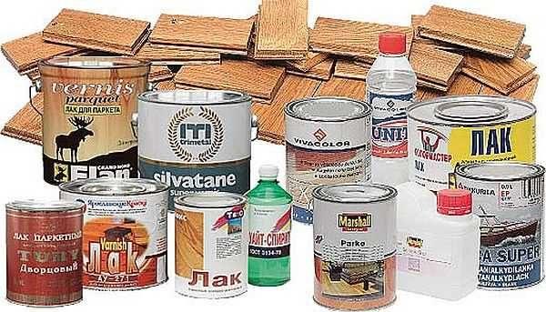 Лаки для древесины делают на разном основании и имеют они разные характеристики