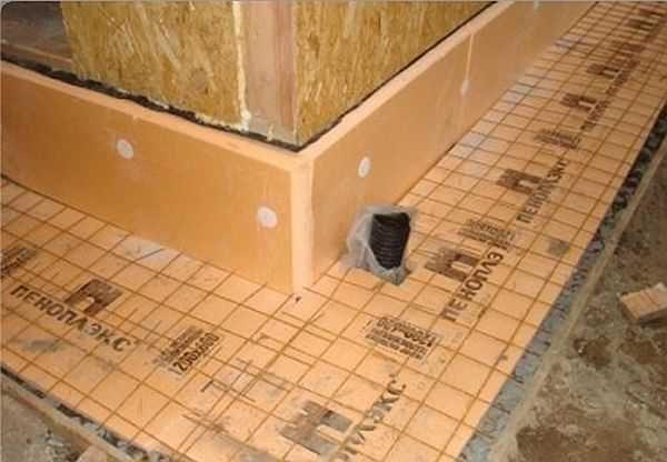 Под бетонную отмостку обязателен армирующий слой