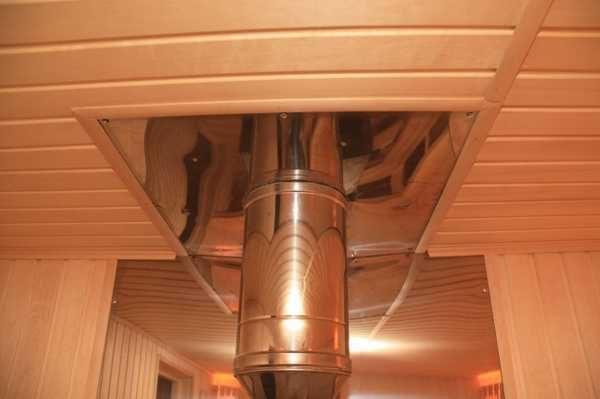 prohod trubi cherez potolok 10 600x399 - Чем заделать щель между трубой и потолком