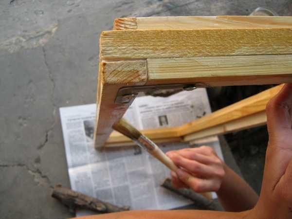 Пропитка олифой - отличный способ сохранить древесину
