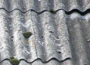 Со временем появляются на крыше трешины