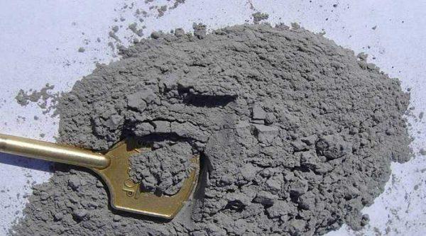 Цемент должен быть хорошего качества