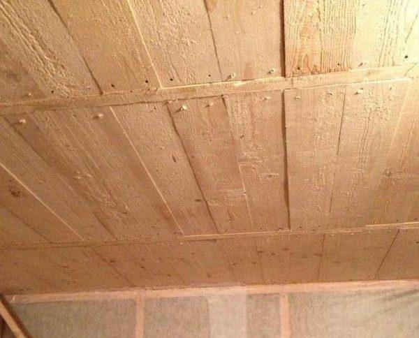 Это уже подбитый потолок
