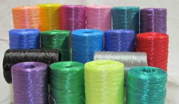 Полипропиленовые нитки для вязания мочалок