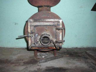 Пример дверки с шибером